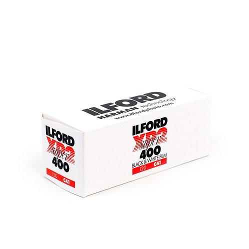 Ilford XP2 400 Black & White Film (120)