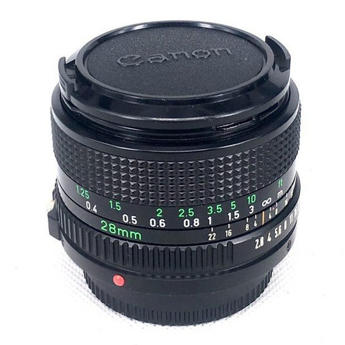 Canon New FD 28mm F2.8 (used)
