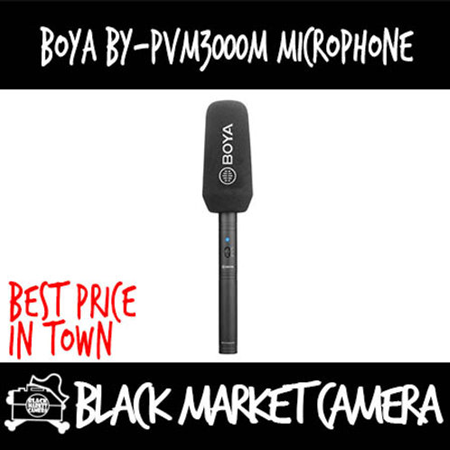 Boya BY-PVM3000M Shotgun Microphone