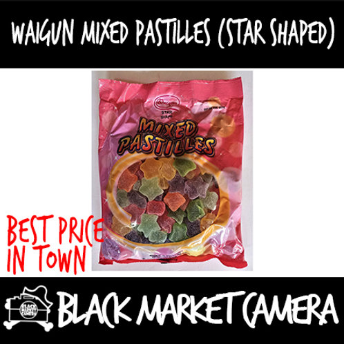 Waigun Mixed Star Shaped Pastilles (Bulk Quantity, 2 Packs for $24)