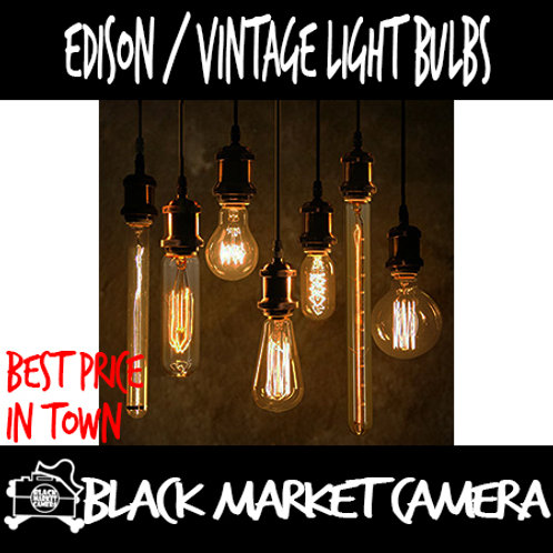 Edison Vintage Light Bulbs E27/E14