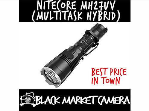 NITECORE MH27UV 1000 Lumen USB Rechargeable Red&Blue&Ultraviolet LEDs Flashlight