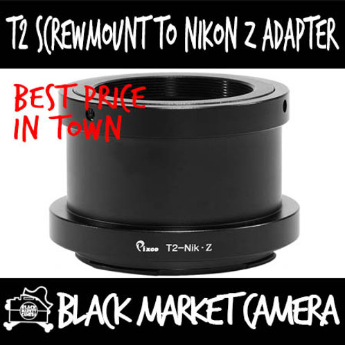 T2 Screwmount Lens to Nikon Z Mount Camera