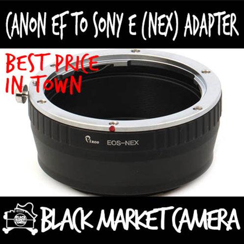 Canon EF Lens to Sony E (NEX) Body Adapter