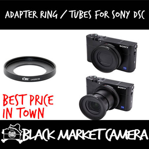 JJC Adapter Ring / Tubes for Sony DSC-RX100/RX100M2/RX100M3/RX100M4/RX100M5/5A