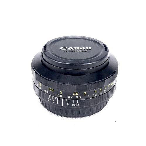 Voigtlander Ultron 40mm f2 SL Canon Mt