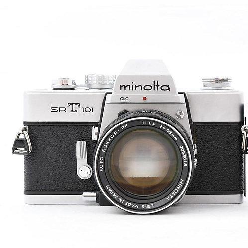 *SOLD* Minolta SRT101 Film SLR Silver (used)