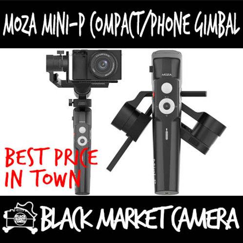 Moza Mini-P Mirrorless/Phone/Actioncam Multipurpose Gimbal