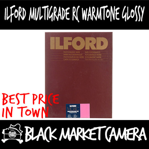 "Ilford  MGRCWT1M Multigrade RC Warmtone Glossy (12"" x 16"") 10pcs"