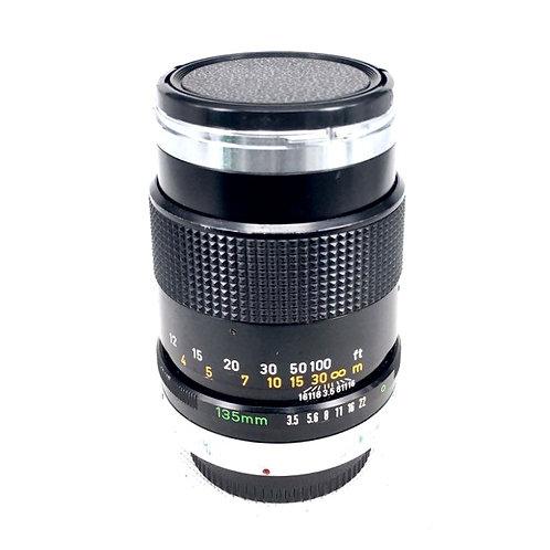 Canon FD 135mm Chrome F3.5 SC (used)