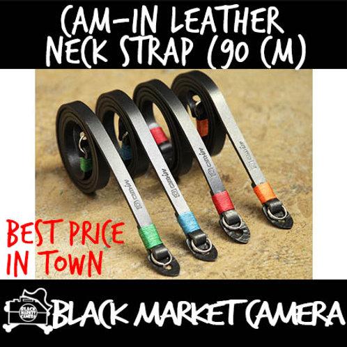 Cam-in Leather Neck Strap (90 cm)