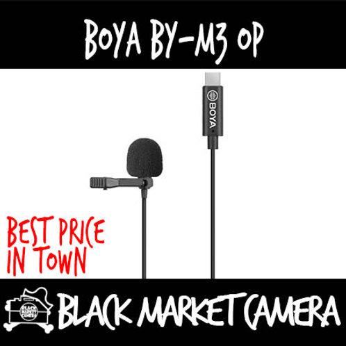 Boya BY-M3 OP Lavalier Microphone