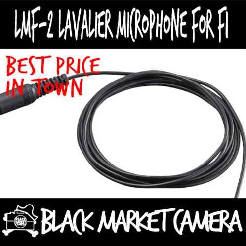ZOOM LMF-2 Lavalier Mic For F1 Field Recorder
