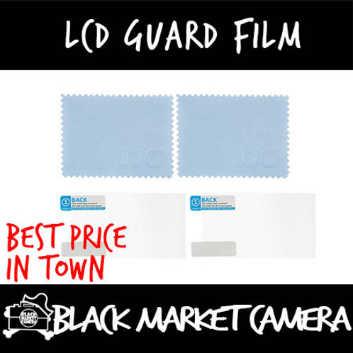 JJC LCD Guard Film for Multiple Camera Models