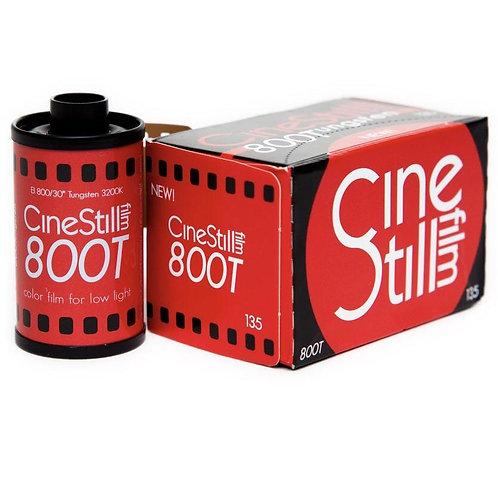 Cinestill 800T Tungsten 800 36 Exp Colour Negative Film (135)