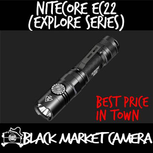 Nitecore EC22 1000 Lumens Infinitely Variable Brightness Portable Flashlight