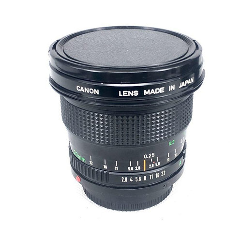 Canon New FD 20mm F2.8 (used)