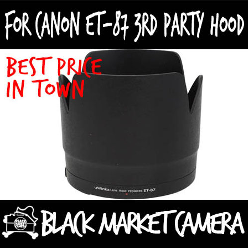 For Canon ET-87 3rd Party Lens Hood
