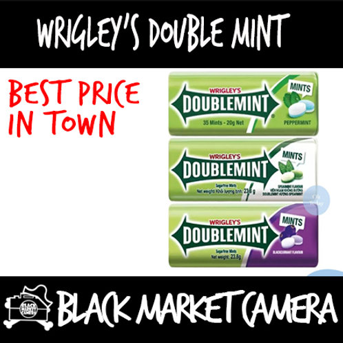 Wringley Double Mint (15 tins/box /BULK QUANITITY)[SWEETS] [CANDY]