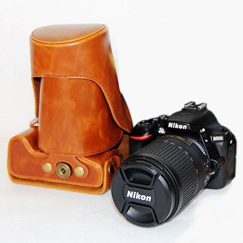 Leather Half Case - Nikon D5500 / D750