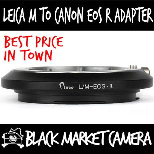Leica M to EOS R Mount Lens Adapter