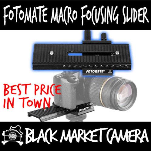 Fotomate Macro Focusing Rail Slider