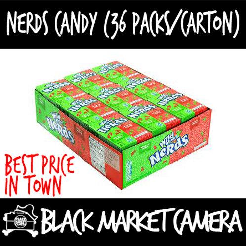 Nerds Candy (Bulk Quantity, 36 packs/Carton)