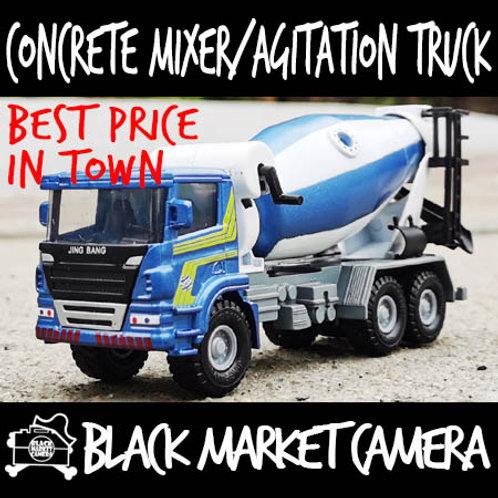 JB 1:50 Agitation/Concrete Mixer Truck Diecast Model