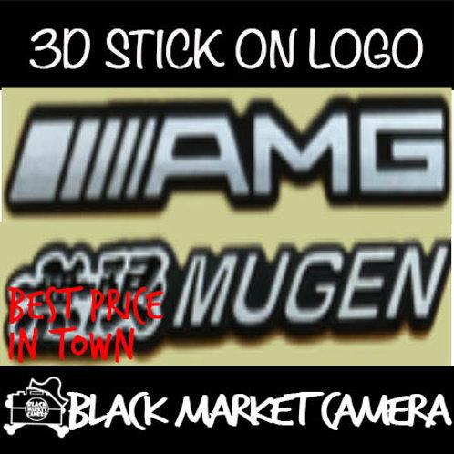 3D Stick On Logo