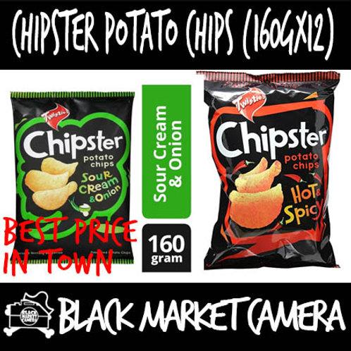 Chipster Potato Chips [160gx12packs] [Chips][Snacks]