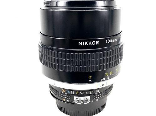 Nikon 105mm F1.8 Ais (used)