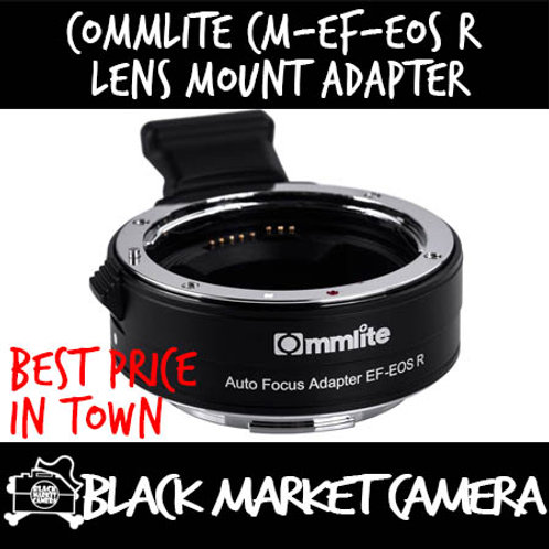Commlite CM-EF-EOS R Electronic Auto-Focus Lens Mount Adapter (EF Lens to EOS R)