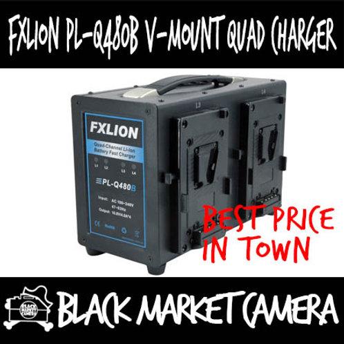 FXLION PL-Q480B V Mount Quad Charger