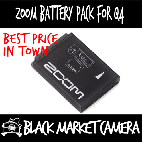Zoom BT-02 Rechargeable Battery for Q4