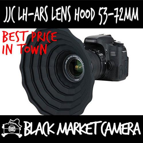 JJC LH-ARS Silicone Lens Hood 53-72mm