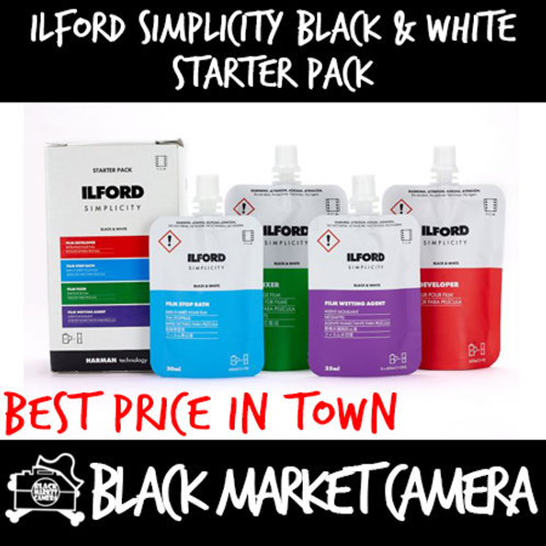 Ilford Simplicity Black and White Starter Pack [Film]
