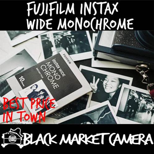 Fujifilm Instax Wide Plain Monochrome Film