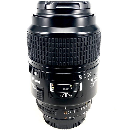 Nikon AF 105mm F2.8 Micro (used)