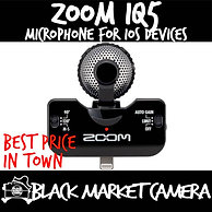 ZOOM iQ5 Stereo Microphone for iOS Devices