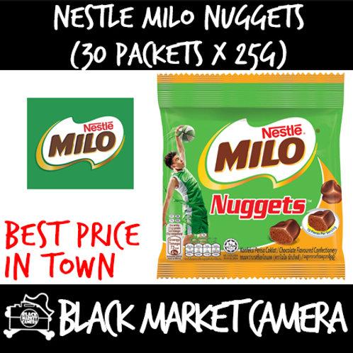 Nestle Milo Nuggets (Bulk Quantity, 30 Packets x 25g)