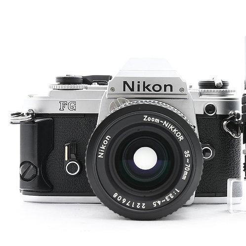 *SOLD* Nikon FA Film SLR Silver (used)