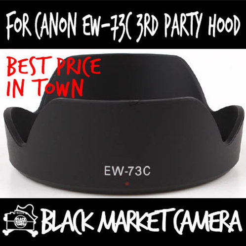 For Canon EW-73C 3rd Party Lens Hood