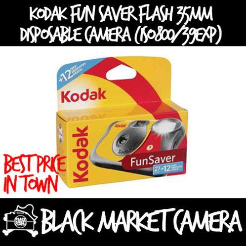Kodak Fun Saver Flash Disposable Camera (ISO800/39Exposures)