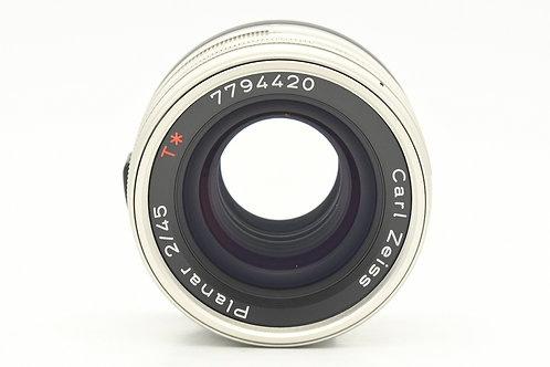 *SOLD* Contax G Carl Zeiss Planar T* 45mm F2 (used)