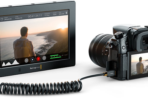 """Black Magic Video Assist 5"""" all-in-one monitor and HD recorder"""