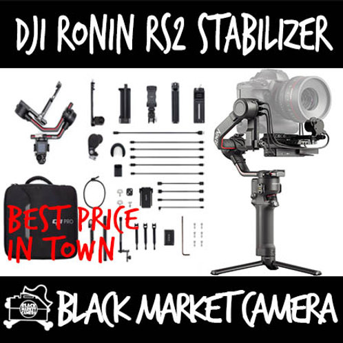 DJI Ronin RS2 Camera Gimbal Stabilizer Standard/Combo *Demo set in store*