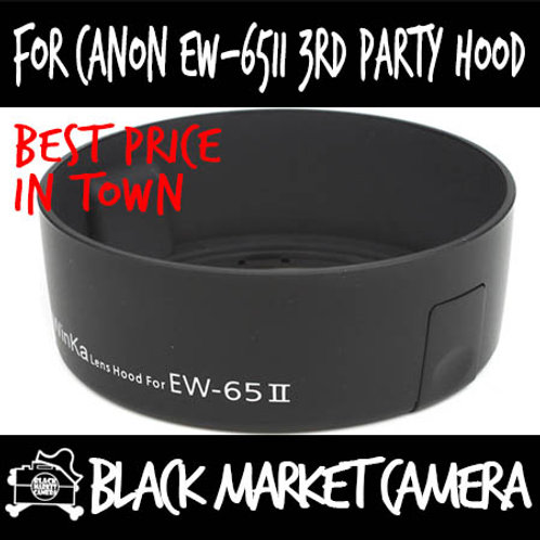 For Canon EW-65II 3rd Party Lens Hood