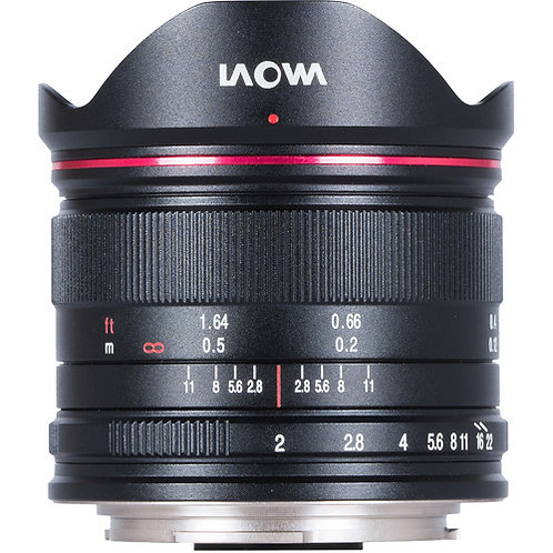 Venus Optics Laowa 7.5mm F2 MFT Lens for Micro Four Thirds (Ultra-Light Version)
