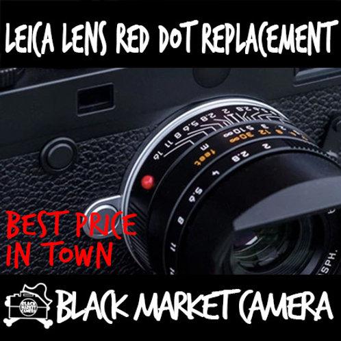 Leica Lens Red Dot Replacement