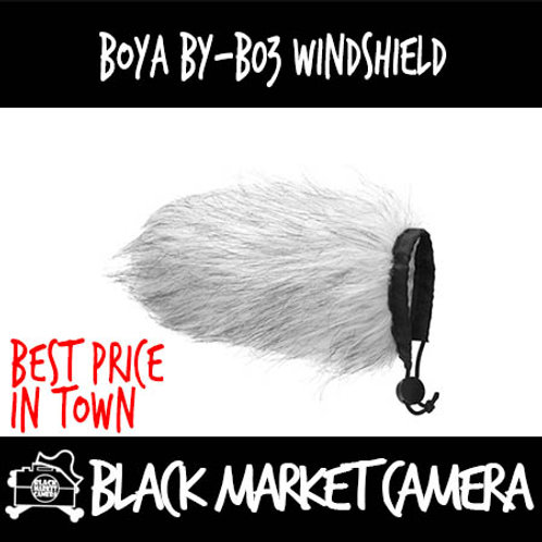 Boya BY-B03 Fur Windscreen